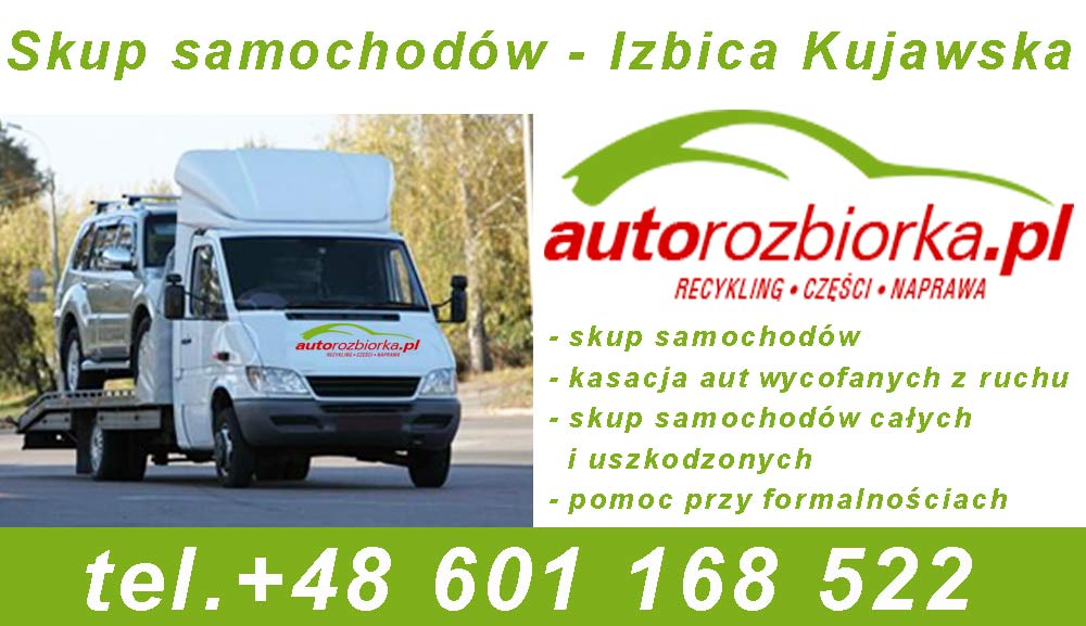 skup samochodow Izbica Kujawska - autorozbiorka