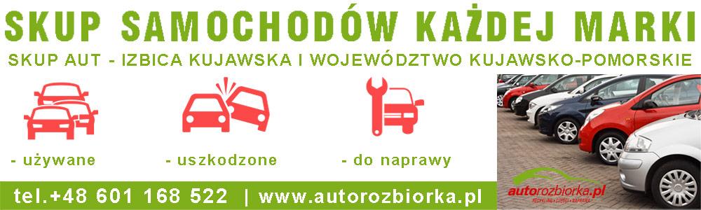 skup samochodow Izbica Kujawska-autorozbiorka